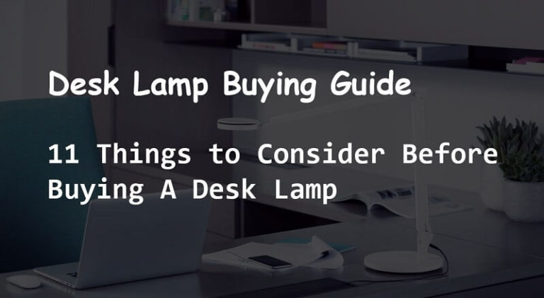 desk lamp buying guide